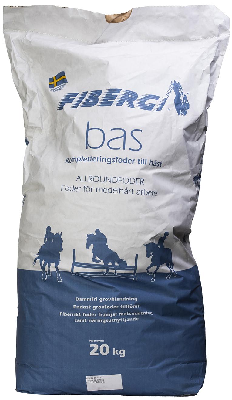 Fodersäck Fibergi Bas 20 kg